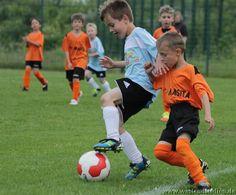 Derby Match of the Mini Teams: Eberswalde Prussians vs. Bernau FSV 10 - 0 .