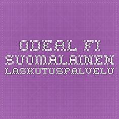 odeal.fi suomalainen laskutuspalvelu
