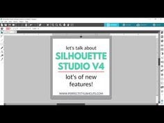 Silhouette Studio V4 - Intro To New Features - YouTube