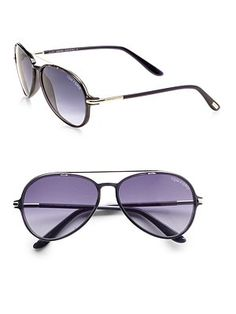 The new Tom Ford sunglasses are awesome.
