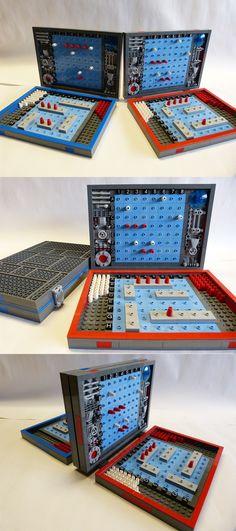 Battleship #LEGO #Games #red #blue