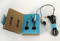 Eco-Friendly Packaging - Headphones