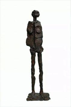 Dona africana - bronze / African woman - bronze