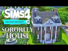 Welcome to the house Sorority sisters! We're a classy bunch after all. This house has the classic Sorority House des.