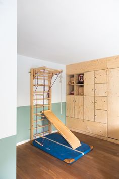 Getting those toddlers some gymnastics, so they'll lose some energy Playroom Decor, Kidsroom, Baby Room, Gymnastics, Toddlers, New Homes, Living Room, Interior Design, Projects