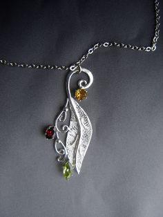 Last Fall pendant necklace by ElnaraNiall on DeviantArt