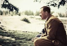 Adolf Hitler (in colour) 27 by Julia-Koterias on DeviantArt Military Art, Military History, Rare Photos, Old Photos, Nazi Propaganda, The Third Reich, History Books, World War Two, Wwii