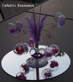 Arbre à bulles - Décoration de mariage. Tous droits réservés Celebria Evenement.