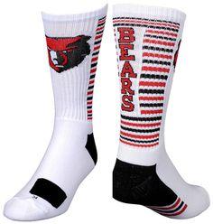 Be ready to block out your opponent in custom basketball socks from Bristol. #customsocks  https://www.thegraphicedge.com/catalog/custom-socks
