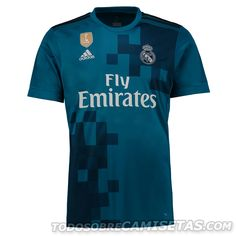 Real Madrid C.F Season Third Blue Los Blancos Shirt Jersey,all cheap Soccer Jerseys Shirts are AAA+ quality and fast shipping,wholesale and retail,all the uniforms will be shipped as soon as possible,guaranteed original Replica best quality China Kits Soccer Kits, Football Kits, Jersey Outfit, Jersey Shirt, Football Uniforms, Soccer Jerseys, Real Madrid Jersey 2017, World Cup Jerseys, Soccer Store
