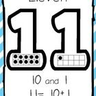 Use these common core aligned teen number posters to help your students understand place value and to help with composing and decomposing numbers i...
