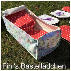 """Utensilo-Tasche """"Big Beauty"""" genäht von Fini's Bastellädchen. Nähanleitung und Schnittmuster von shesmile, Do it Yourself."""
