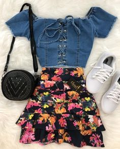 trendy outfits with leggings Cute Fashion, Look Fashion, Teen Fashion, Korean Fashion, Fashion Outfits, Womens Fashion, Cute Summer Outfits, Cute Casual Outfits, Pretty Outfits