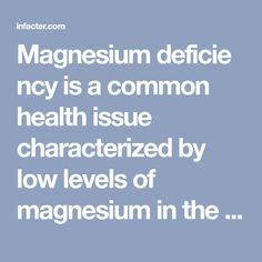 Magnesiumdeficiency is a common health issue characterized by low levels of magnesium in the body. Magnesium is a vital mineral responsible for the regulation of about 300 enzymes in the body. Here Are 9 Early, Warning Signs of Magnesium Deficiency: – Muscle Cramps and Pain Magnesium deficiency can lead to muscle pain and cramps as …