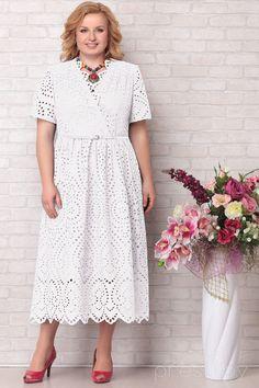 Indian Fashion Modern, Fashion Shoes, Fashion Dresses, Beautiful Crochet, Elegant Woman, Plus Size Fashion, White Dress, Short Sleeve Dresses, Womens Fashion