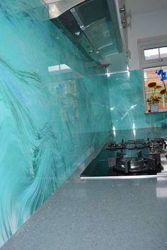 """Printed"" Glass Splashbacks by CreoGlass Design"