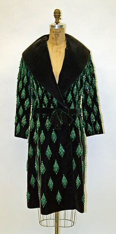 Ensemble, Evening  House of Dior (French, founded 1947)  Designer: Marc Bohan (French, born 1926) Date: fall/winter 1962–63