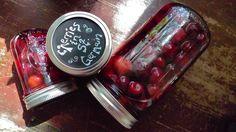 Cherries presrved in St. Germain