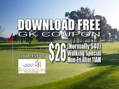 GK Coupon – Buenaventura Golf Course Tee Time Special