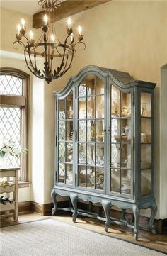 The only question is whether this gorgeous cabinet would house my natural history collection or my Wedgwood...