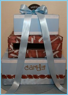 """Photo 9 of 13: A Little Kicker Is On His Way! / Baby Shower/Sip & See """"Football Baby Shower"""" 