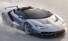 Lamborghini Centenario Roadster Revealed in California
