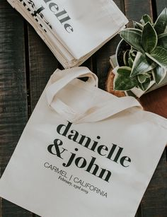 Custom tote bags! For any event!  #wedding #event #party #totebag #etsy #quality #natural