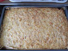 Buttermilchkuchen mit Mandel-Zucker-Zimt-Haube