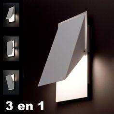 Faro Barcelona vous présente, SHOMS Lampe applique blanc avec en éclairage 1 R7S 10W (ampoule non incluse)...