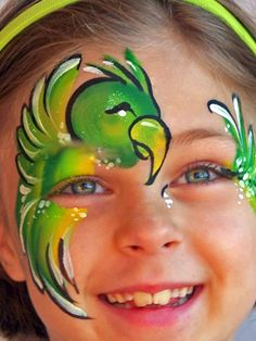 A good gallery of ideas for advanced face painting.