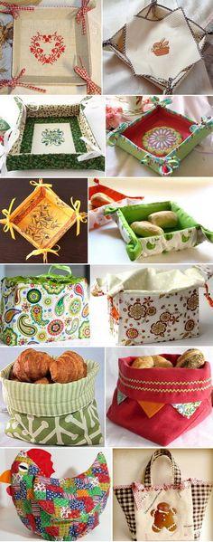 Хлебницы из ткани