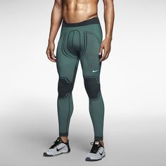 Nike Pro Combat Hyperwarm Flex Compression Men's Tights. Nike Store UK