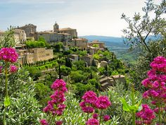 Summer in Gordes, Provence, France