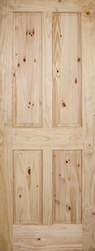 Details about 5 panel knotty alder flat panel mission for 8 panel solid wood doors