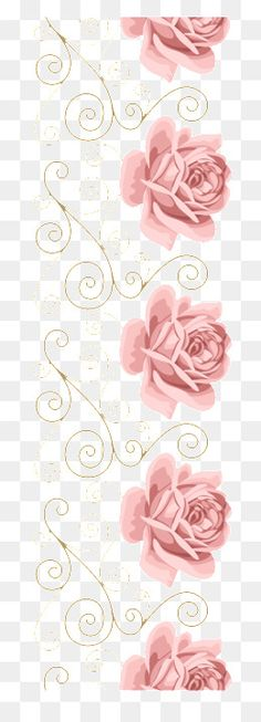 Rose Lace Flower Frame sombreamento, Vector, Cartão Cor - De - Rosa, Convites De CasamentoPNG e Vector