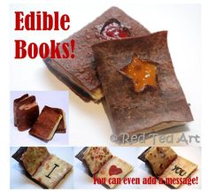 Edible books! What a great idea!