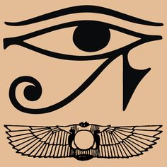 words cannot describe how much i want this eye of Horus tattooed on my body