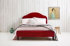 Christobelle Piped Upholstered Bed