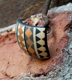 Lucy Struncova is a 19 years old polymer clay artist, dreamer creator and co-founder of the LC Tools. Polymer Clay Ring, Polymer Clay Pendant, Polymer Clay Crafts, Triangle Ring, Women Jewelry, Silver Rings, Pendants, Pendant Necklace, Clay Ideas