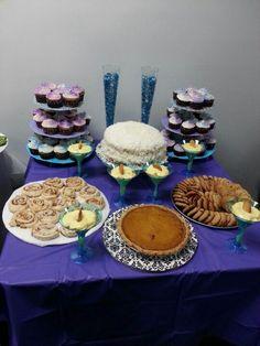 Dessert table for gramps
