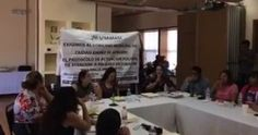 <p>Ciudad Juárez, Chih.- Durante la reunión de la Subcomisión de Coordinación y Enlace para Prevenir y Erradicar la Violencia contra