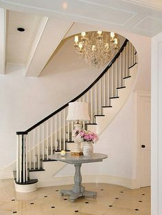 Belclaire House I SOOOO want a staircase like this!
