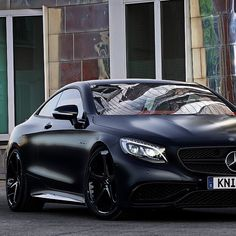"""Mercedes-Benz S63 AMG Coupe By #KnightLuxury 