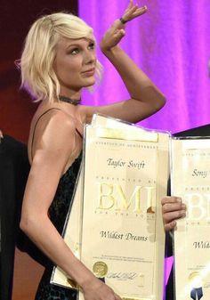 Taylor swift no BMI Pop Awards