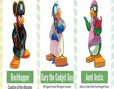 """Check out new work on my @Behance portfolio: """"Club Penguin Mission Mascots And Characters"""" http://be.net/gallery/36734935/Club-Penguin-Mission-Mascots-And-Characters"""
