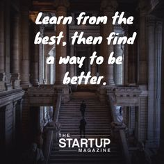 The Startup Magazine aspires to educate and inspire startups. We provide advice, access to business tools, and tell great entrepreneur stories. Entrepreneur Stories, Startup Entrepreneur, Great Entrepreneurs, Business Motivation, Photo Quotes, Fun Learning, Just Do It, Motivationalquotes, Inspirational Quotes