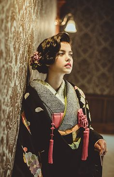 Japanese Kimono, Japanese Fashion, Asian Fashion, Japanese Wedding, Hair Arrange, Yukata, Japanese Culture, Kimono Fashion, Wedding Styles