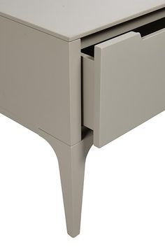 Globe West - Products Model:SIDE-LUCA Taupe or white.   Product Code:SIDE-LUCA-WH  RRP:$750 (incl GST, Excl Freight) Wholesale Price:Client Login Description:1 Drawer (Soft Close) Dimensions:W450 x D460 x H480mm (W x D x H mm)