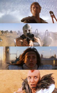 Mad Max 2: The Road Warrior 1981 post-apocalyptic film, directed by George Miller and starring Mel Gibson