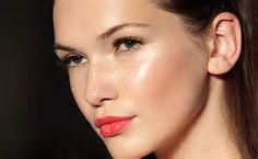 Labbra geranio.  Make Up 2014 Trends #makeup #orange #lips #geranio